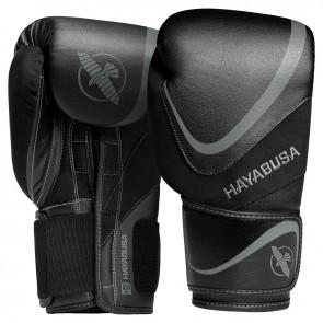 Hayabusa (kick)bokshandschoenen H5 Zwart/Grijs