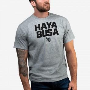 Hayabusa T-Shirt Casual Logo Grijs