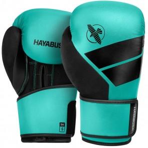 Hayabusa S4 (kick)bokshandschoenen Aqua (Handschoenen)