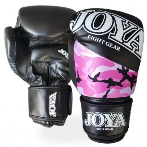 Joya Junior (kick)bokshandschoenen Top One Camo Roze