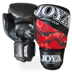 Joya Junior (kick)bokshandschoenen Top One Camo Rood