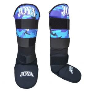 Joya Junior Scheenbeschermers Velcro Camo Blauw