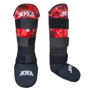 Joya Junior Scheenbeschermers Velcro Camo Rood