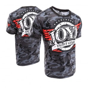 Joya Junior T-Shirt Camo Zwart