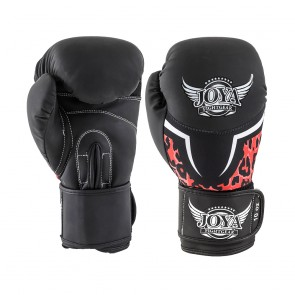 Joya (kick)bokshandschoenen Leopard Zwart/Roze