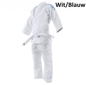 adidas Karatepak K200 Kids Wit/Blauw 120-130cm (Kleding)
