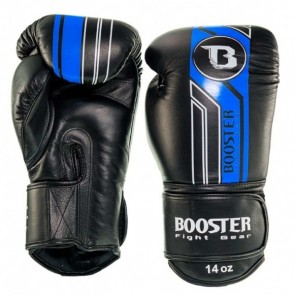 Booster (kick)bokshandschoenen BGL/V9 Zwart/Blauw