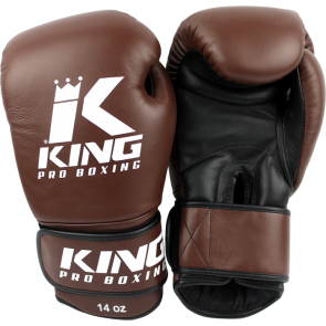 King (kick)bokshandschoenen Pro Boxing Bruin