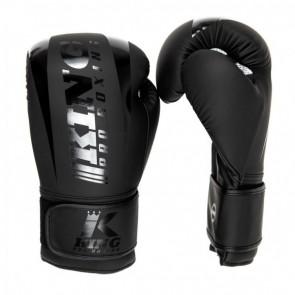 King (kick)bokshandschoenen Revo 4 Zwart 10oz (Handschoenen)