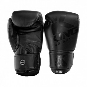 King (kick)bokshandschoenen BG8 Zwart