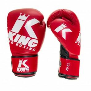King (kick)bokshandschoenen Platinum 4 Rood/Wit