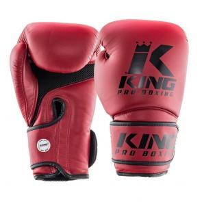 King (kick)bokshandschoenen KPB Star Mesh 3 Rood