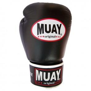 Muay (kick)bokshandschoenen Original Zwart/Wit