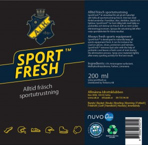 Nuvo Sport Fresh Equipment AIK