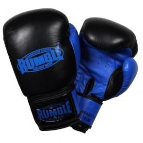 Rumble (kick)bokshandschoen Leder Ready 2.0 Zwart/Blauw