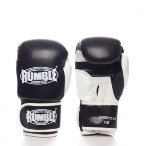 Rumble (kick)bokshandschoen PU Junior Zwart/Wit 2.0