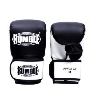 Rumble Zakhandschoenen PU Punch 2.0 Zwart/Wit
