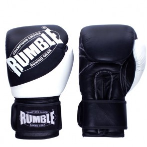Rumble (kick)Bokshandschoen Fighter 2.0 Zwart/Wit