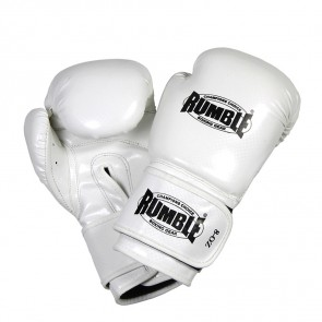 Rumble (kick)bokshandschoen PU Junior Wit