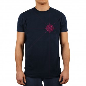 Wicked1 T-Shirt Compas Navy