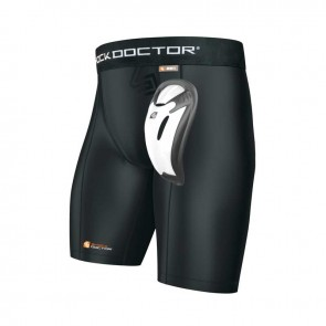 Shock Doctor SD221 Core Compression Short met Kruisbescherming