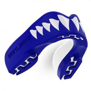 Safejawz Gebitsbeschermer Extro-Series Shark Blauw/Wit