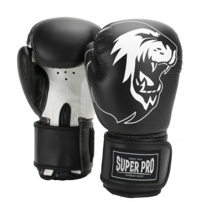 Super Pro Combat Gear Talent (kick)bokshandschoenen Zwart/Wit