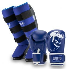 Super Pro Combat Gear Kinderset Blue