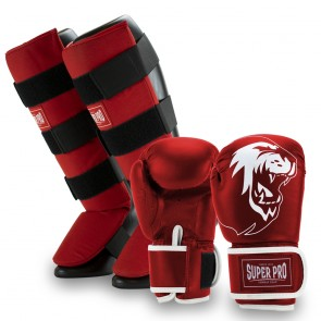 Super Pro Combat Gear Kinderset Red