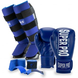 Super Pro Kickboksset Champ Blauw