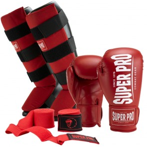 Super Pro Kickboksset Champ Rood