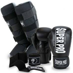 Super Pro Kickboksset Champ Zwart