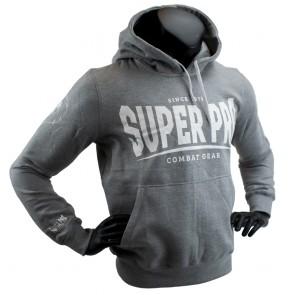Super Pro Hoody S.P. Logo Grijs/Wit