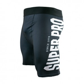 Super Pro Combat Gear Compression Short Zwart/Wit