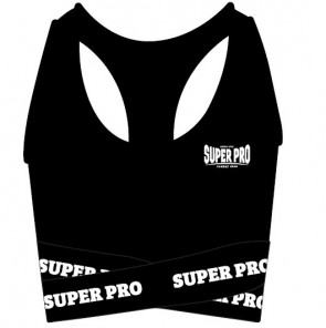 Super Pro Combat Gear Dames Top Zwart/Wit