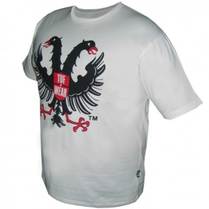 TUF Wear T-shirt Eagle Wit Small