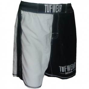 TUF Wear MMA Short Zwart/wit