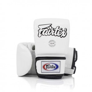 Fairtex Zakhandschoenen Leder Wit Small