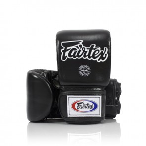 Fairtex Zakhandschoenen Leder Zwart Medium