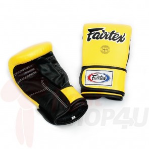 Fairtex Zakhandschoenen Geel Medium