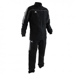adidas Team Track Trainingsjack Zwart/Wit