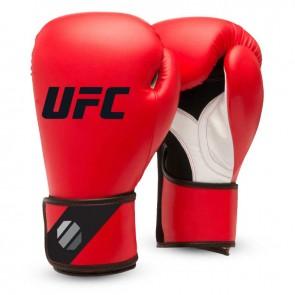 UFC Training (kick)bokshandschoenen Rood/Zwart 8oz