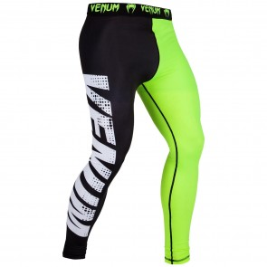 VEN-03386-116 Venum Dames Legging Training Camp Zwart/Lime