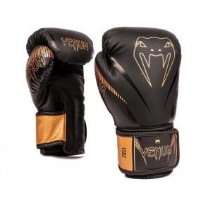 Venum (kick)bokshandschoenen Impact Zwart/Brons