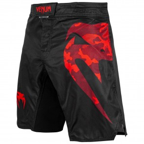 Venum MMA Fightshort Light 3.0 Zwart/Rood Large