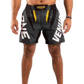 Venum MMA Short One-FC Impact Grijs/Geel