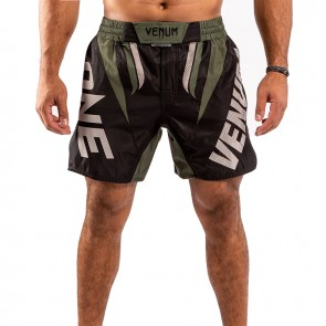 Venum MMA Short One-FC Impact Zwart/Groen
