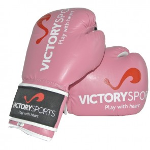 """Victory Sports """"Victorian"""" (Kick)Bokshandschoenen Ladies Roze"""