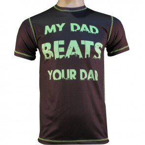 Victory Sports T-Shirt My Dad Beats Your Dad