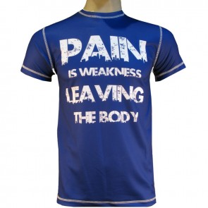 Victory Sports T-Shirt Pain is Weakness Leaving the Body XS